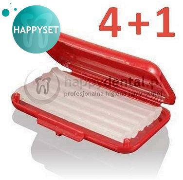 SILIKON ortodontyczny kalibrowany bezzapachowy - ZESTAW promocyjny HappySET 4+1 silikon gratis