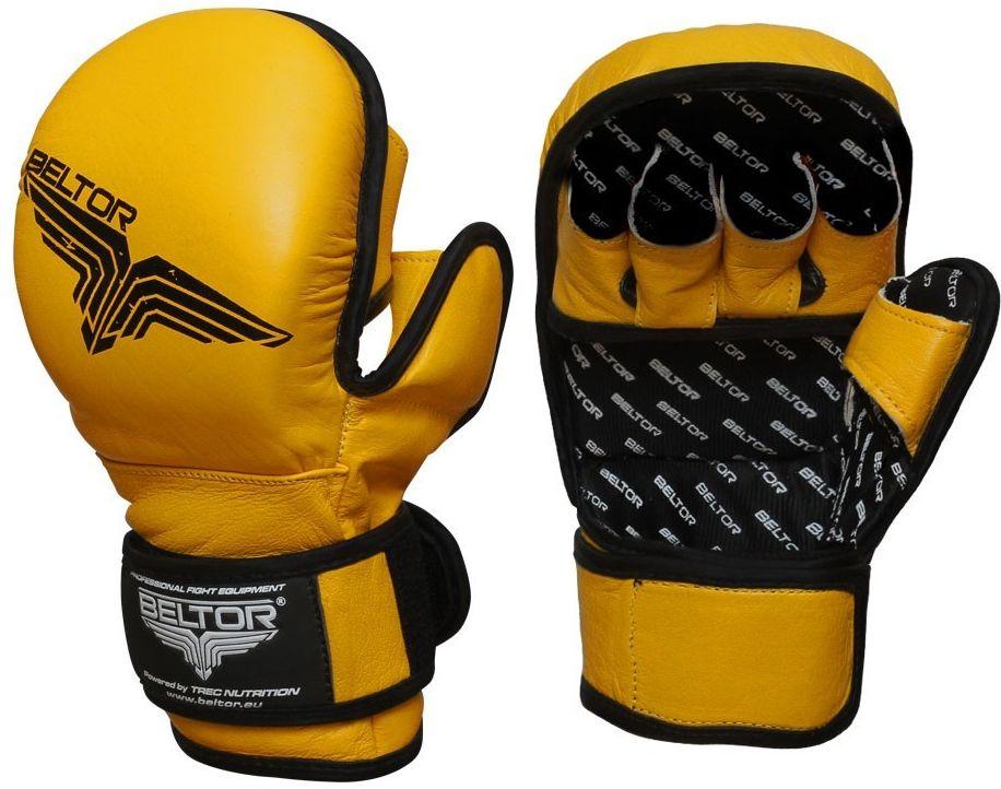 Beltor rękawice MMA Training żółte