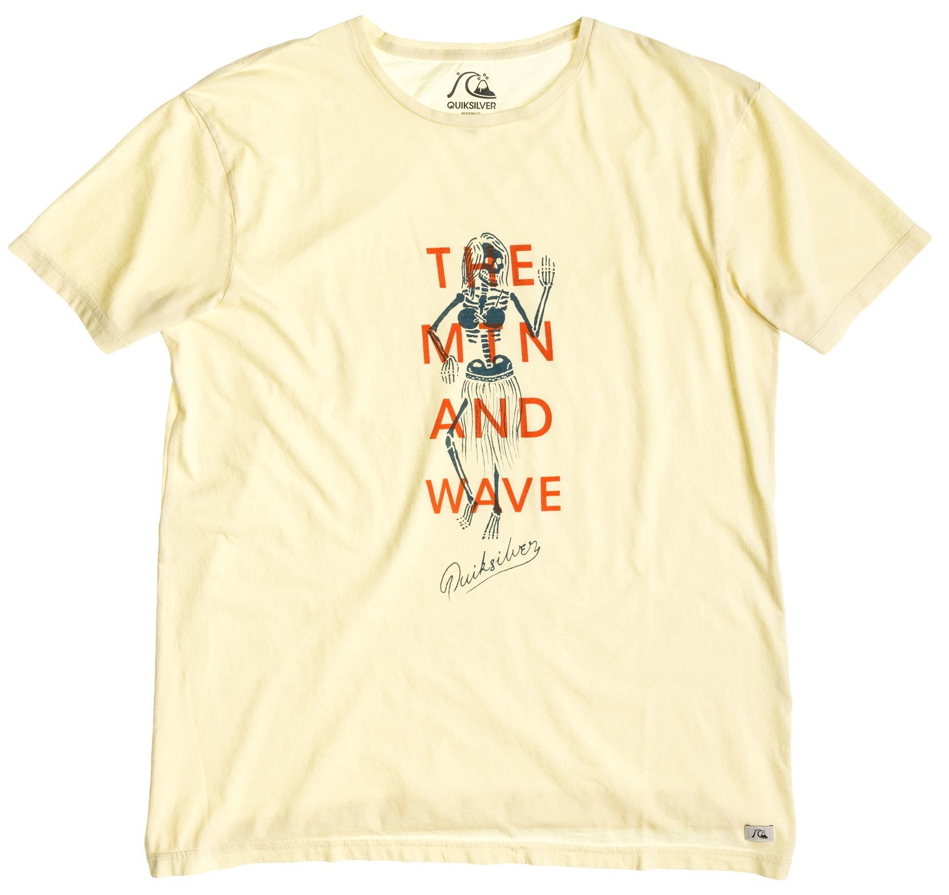 t-shirt męski QUIKSILVER GARMENT DYED E4 M TEES YDJ0
