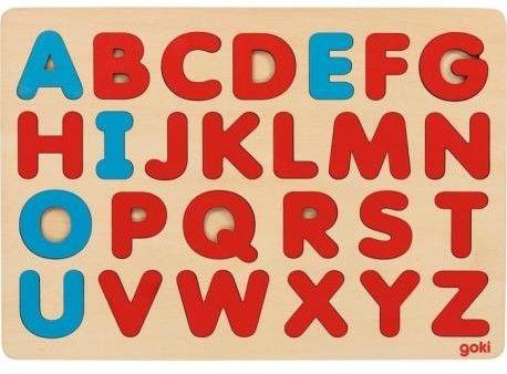 Goki Puzzle alfabet Montessori