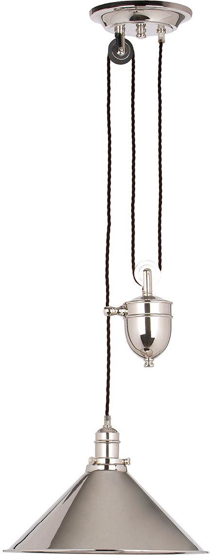 Lampa wisząca Provence PV/P PN Elstead Lighting dekoracyjna oprawa w kolorze polerowanego niklu