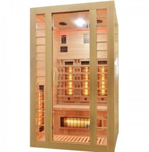 FRESH Sauna na podczerwień 2 osobowa 120x105 cm J10120