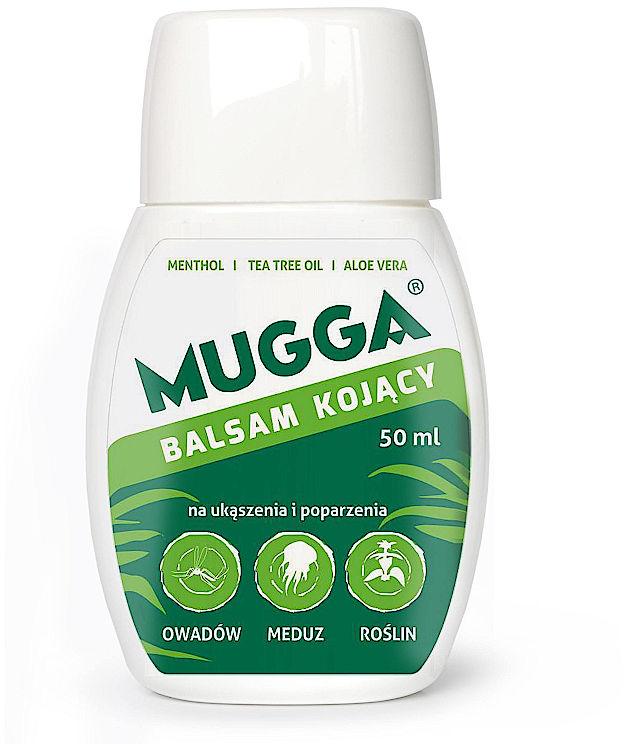 Balsam kojący Mugga. Na ugryzienie, ukąszenie komara.