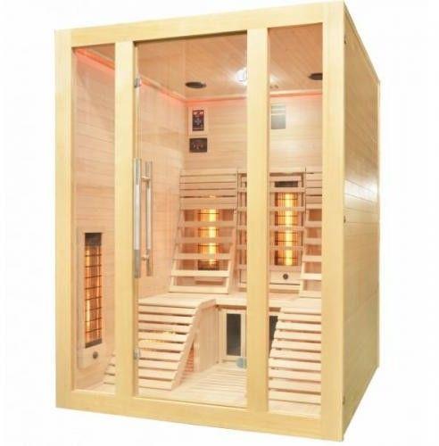 OSLO Sauna na podczerwień 2 osobowa 150x150 cm J40150