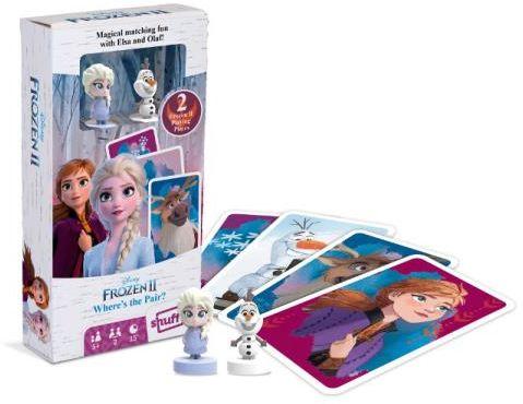 Kraina Lodu 2 gra karciana z figurkami Elsa i Olaf ZAKŁADKA DO KSIĄŻEK GRATIS DO KAŻDEGO ZAMÓWIENIA