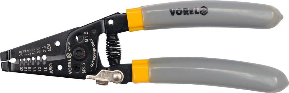 Szczypce do ściągania izolacji 185mm Vorel 45010 - ZYSKAJ RABAT 30 ZŁ
