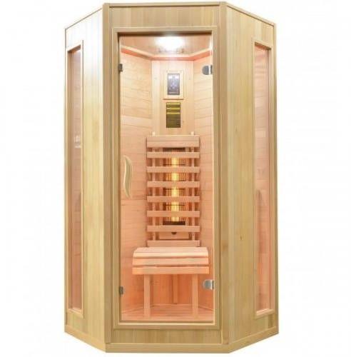 RELAX 2 Sauna na podczerwień 1 osobowa 100x100 cm J30100