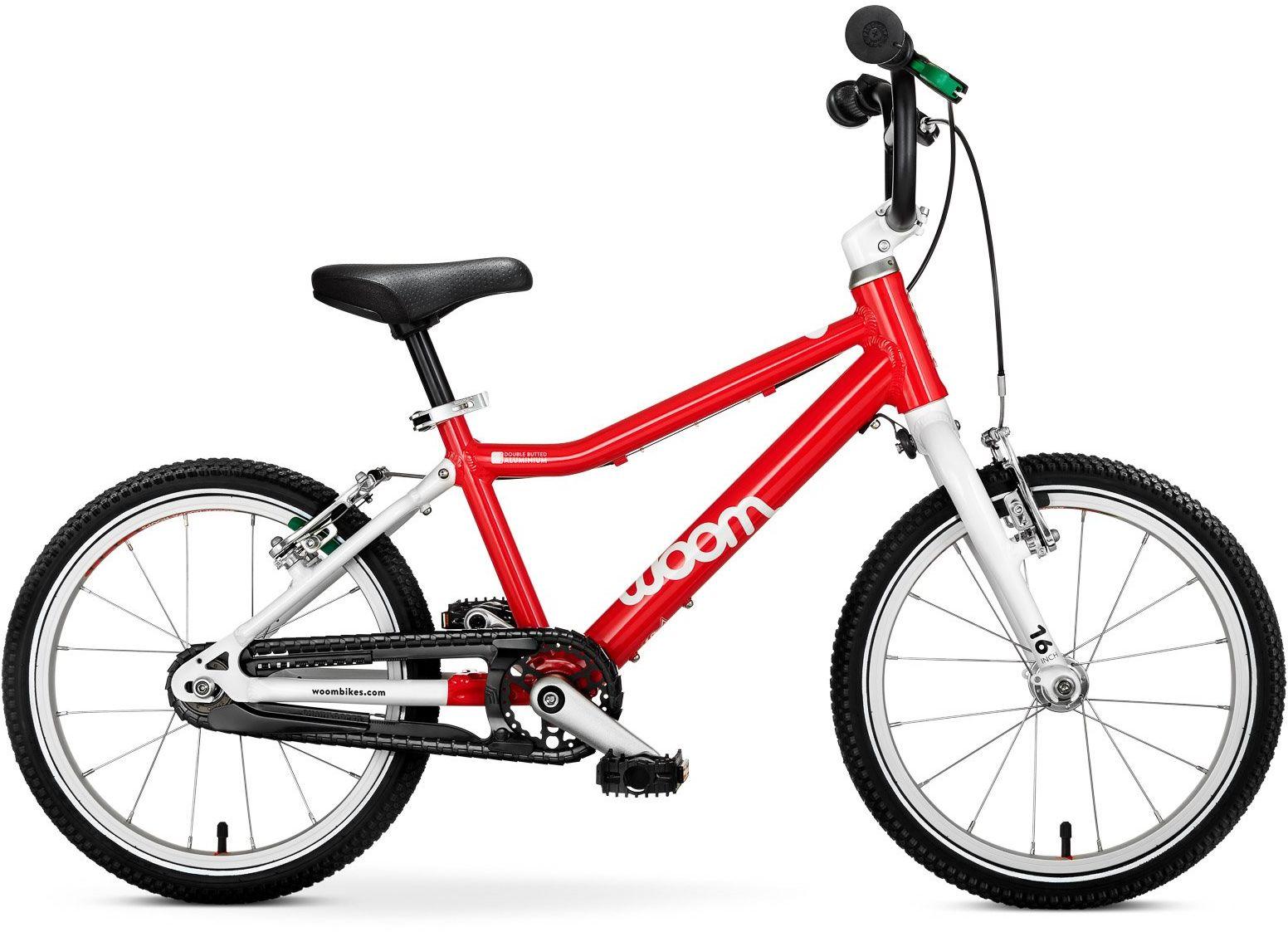 Woom 3 rower 16 cali red