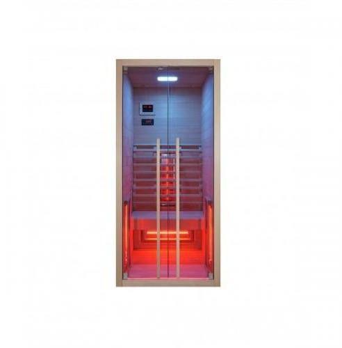 RUBY 1 Sauna na podczerwień 1 osobowa 90x100 cm F20090
