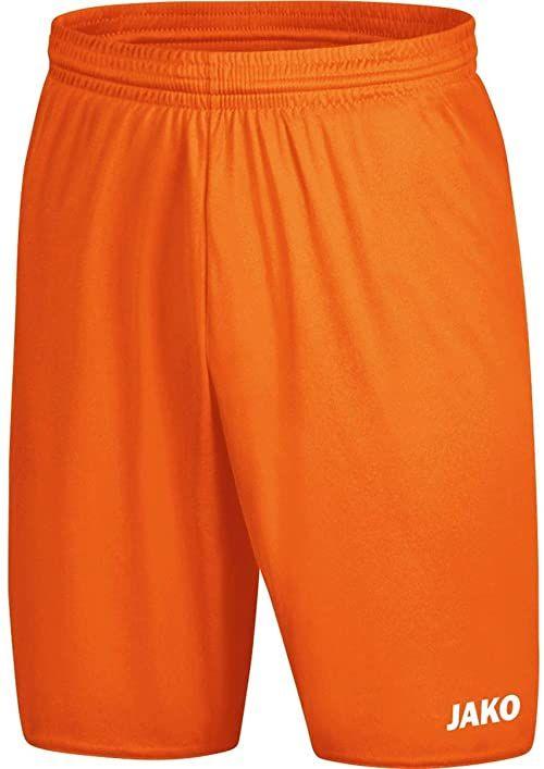 JAKO Manchester 2.0 męskie spodnie sportowe, neonowy pomarańczowy, XXL
