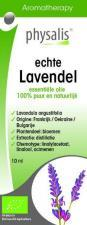 Olejek eteryczny echte lavendel LAWENDA WĄSKOLISTNA BIO 10 ml Physalis