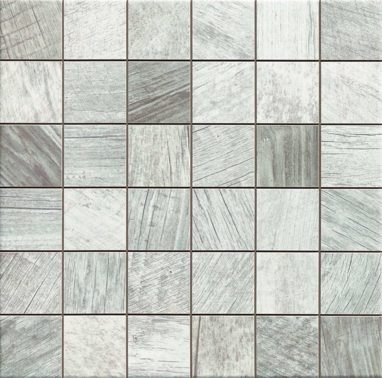 Sequoia Mosaic White 33x33 mozaika gresowa