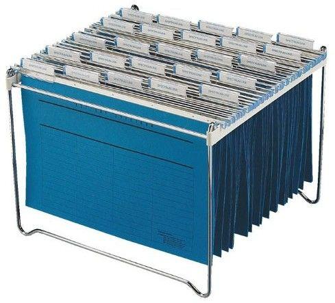 Durable Stojak na teczki zawieszane 30-40 teczek
