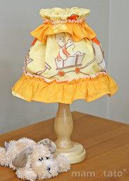 MAMO-TATO Lampka Nocna Przyjaciele w pomarańczu