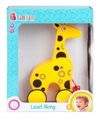 Żyrafa na kółkach BAM BAM ZAKŁADKA DO KSIĄŻEK GRATIS DO KAŻDEGO ZAMÓWIENIA