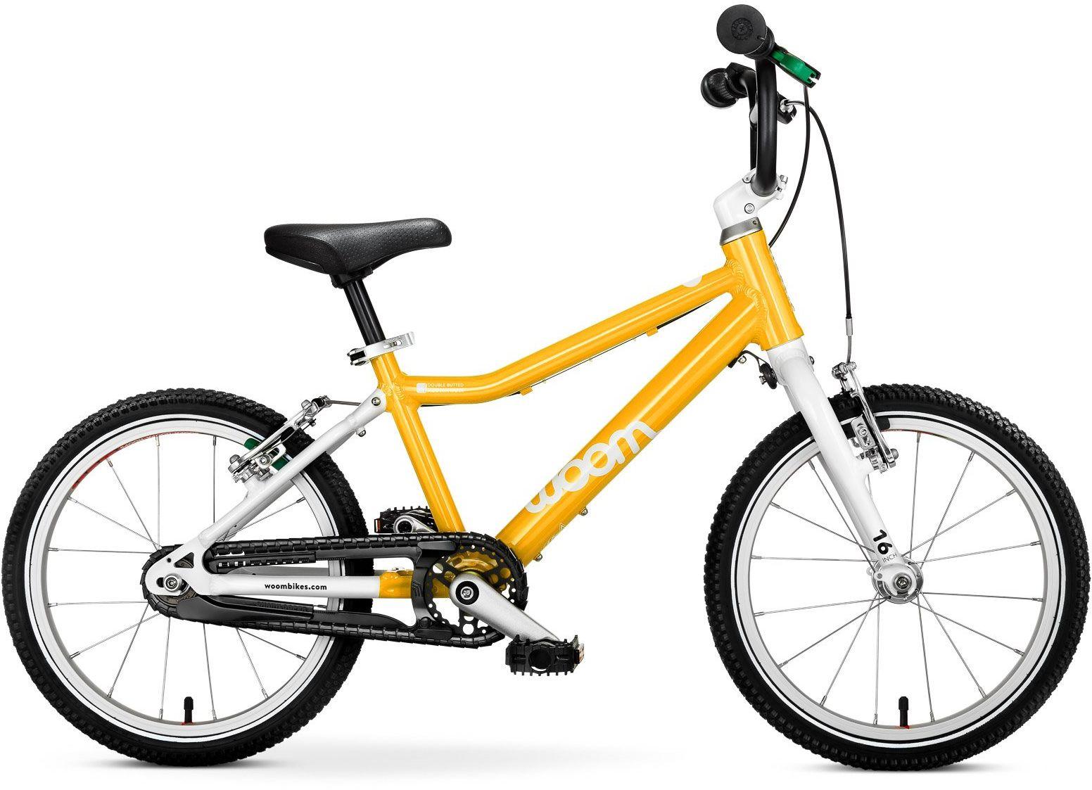 Woom 3 rower 16 cali yellow
