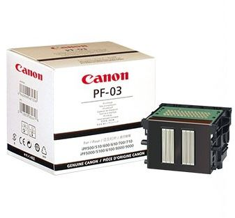 Głowica drukująca CANON PF-03 GWARANCJA POINSTALACYJNA - AUTORYZACJA CANON POLSKA (CF2251B001AB)