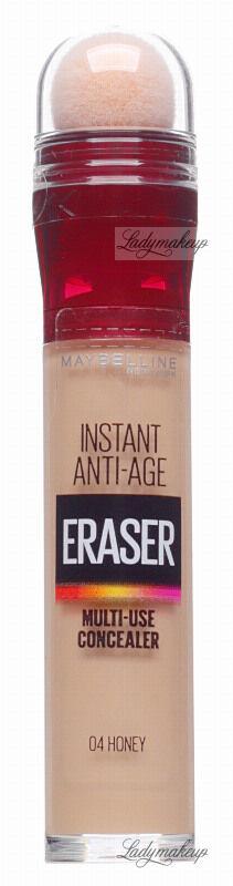 MAYBELLINE - Instant Anti-Age - The Eraser Eye - Perfect & Cover Concealer - Wygładzający korektor do twarzy - 04 - HONEY
