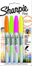 Sharpie Neon Markey FN 4 kol bl NEW