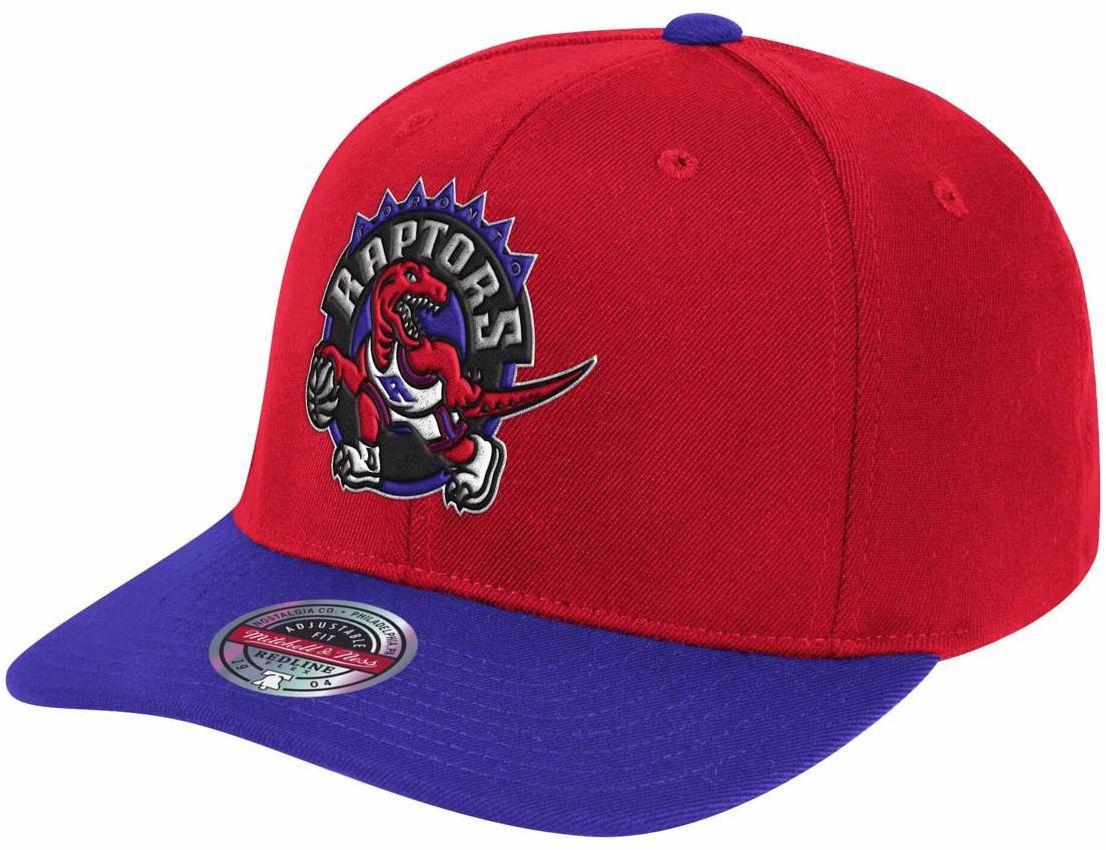 Czapka z daszkiem Mitchell & Ness NBA Toronto Raptors Snapback czerwona
