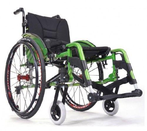 Vermeiren Wózek inwalidzki aluminiowy V300 ACTIVE