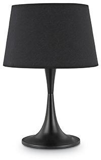 Lampa stołowa London TL1 Big 110455 Ideal Lux nowoczesna oprawa w kolorze czarnym