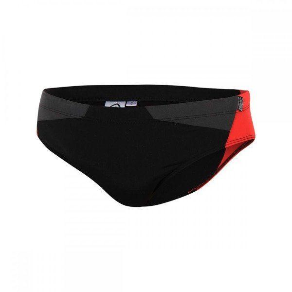 ZEROD Kąpielówki TRAINING BRIEFS czarno-czerwone