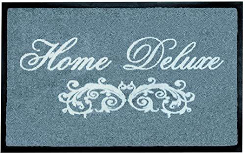 Shoe-Max YH 101339 W Everclean wycieraczka Home Delux 44 x 75 cm, grafitowa / jasnoszara