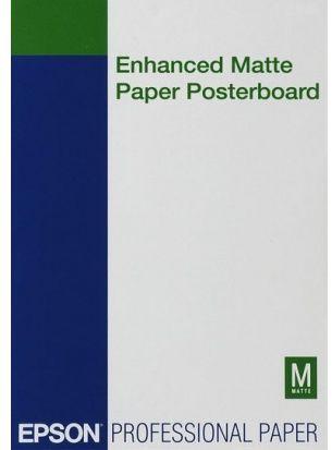 Papier EPSON Enhanced Matte Posterboard 800g/m2 - A2, 20 arkuszy (C13S042111)