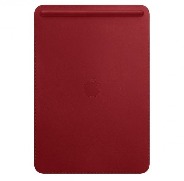 Apple Leather Sleeve - Skórzany futerał do iPad Pro 10,5 - (Product) RED (czerowny)