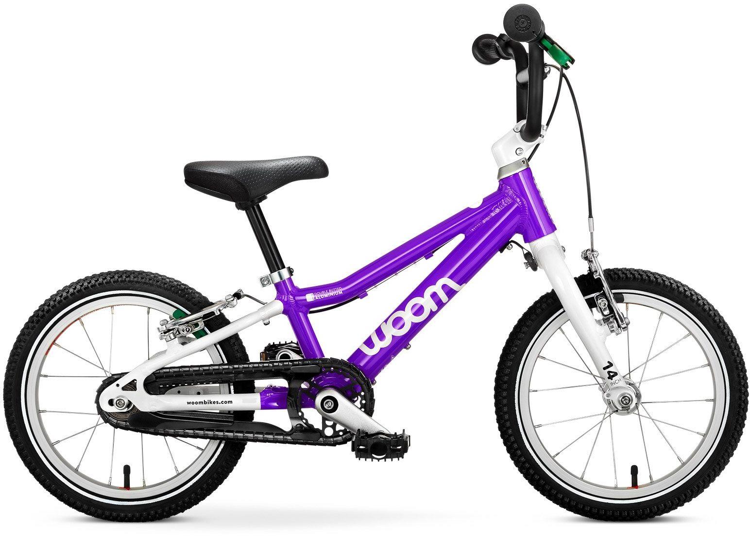 Woom 2 rower 14 cali purple