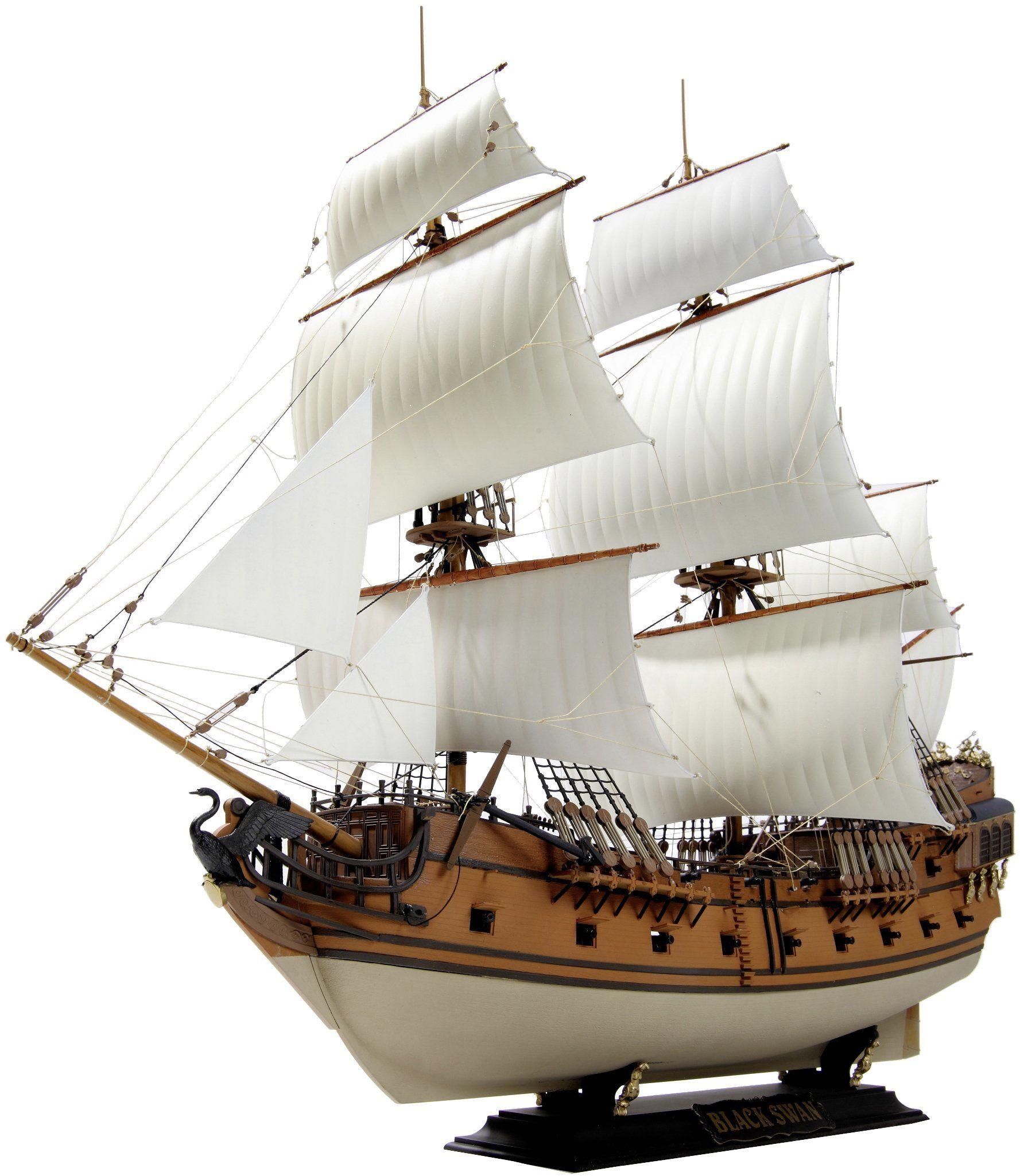 Zvezda 500789031 - 1:72 statek piracki, Black Swan