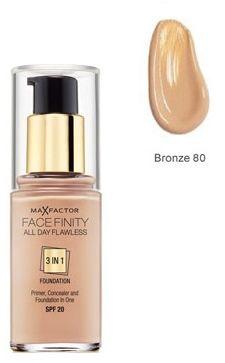 Max Factor Facefinity All Day Flawless 3 in 1 Foundation 80 Bronze Podkład - 30ml Do każdego zamówienia upominek gratis.