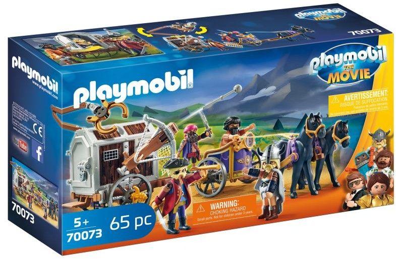 Playmobil The Movie - Charlie i powóż rzezimieszków 70073