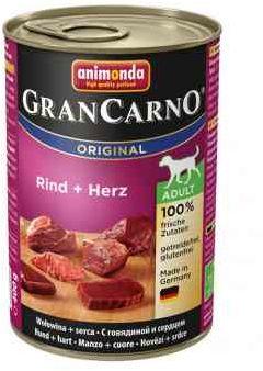Animonda GranCarno Wołowina z Sercami 400 g
