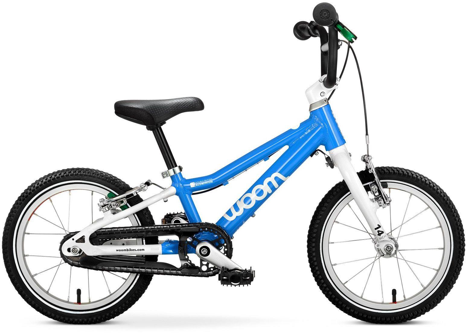 Woom 2 rower 14 cali blue