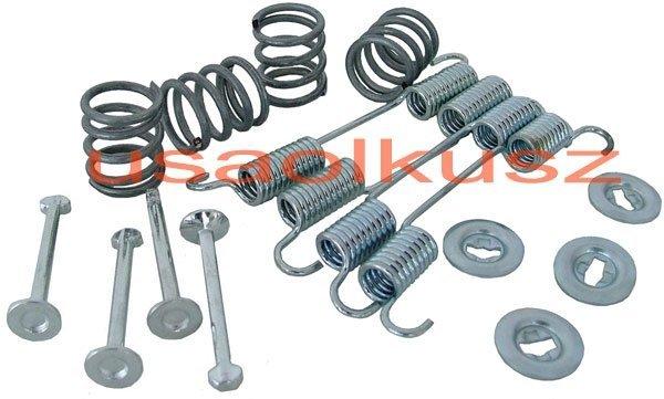 Zestaw montażowy szczęk hamulca postojowego Nissan Altima 2002-2006