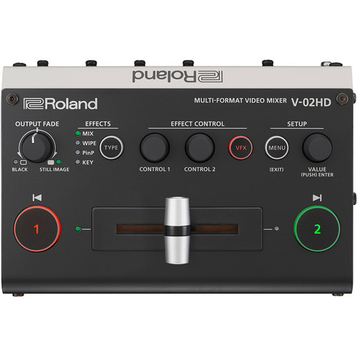Roland V-02HD - wieloformatowy mikser video Roland V-02HD - najtańszy mikser wideo