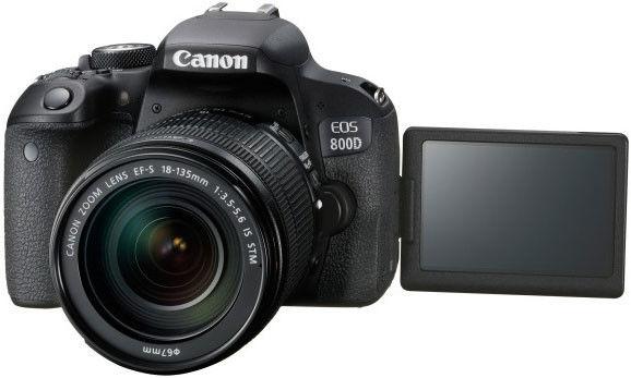 Canon EOS 800D+ EF-S 18-135mm IS USM Nano Czarny
