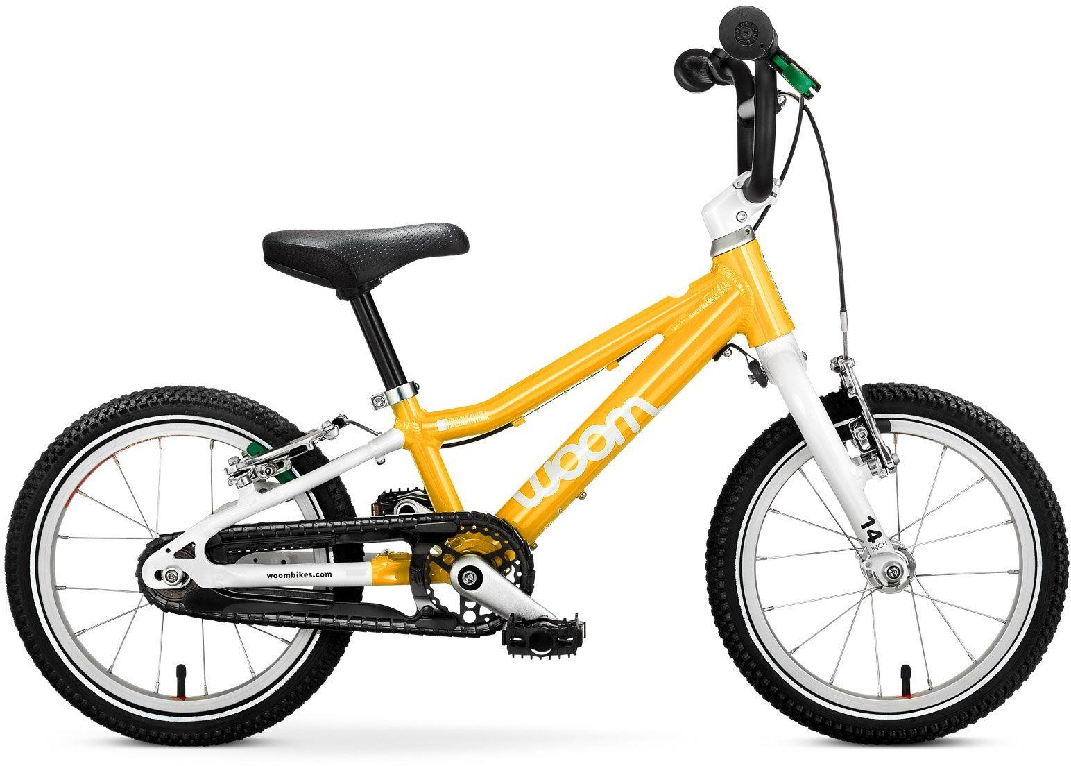 Woom 2 rower 14 cali yellow