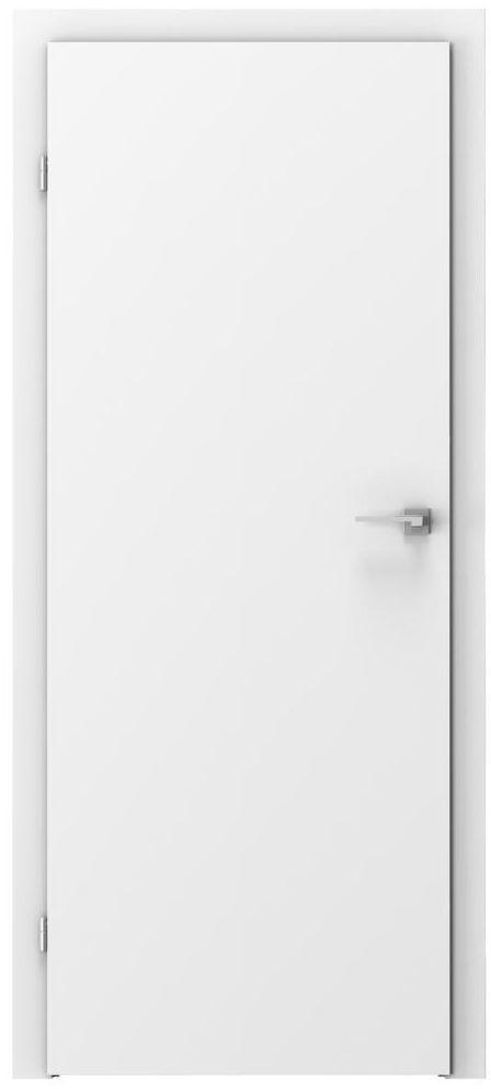 Skrzydło drzwiowe BASIC Białe 60 Lewe