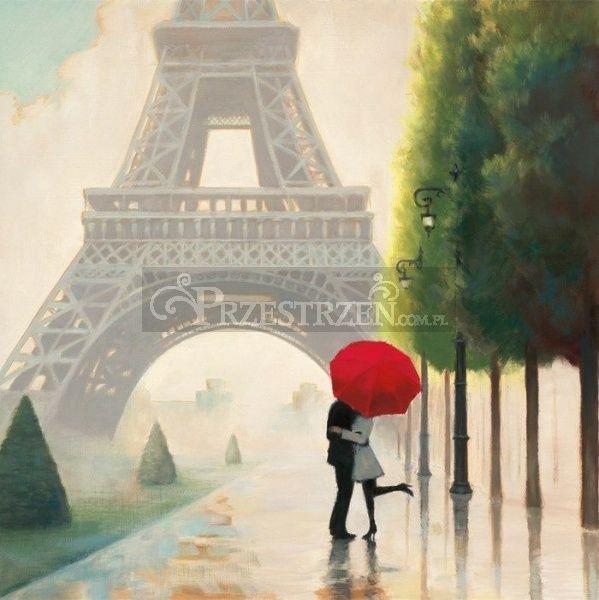 SERWETKI PAPIEROWE - Paris Lovers - Paryscy kochankowie - PARYŻ