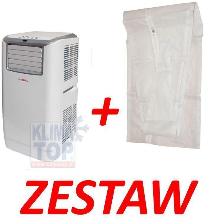 ZESTAW: Klimatyzator przenośny Torell ELEGANT FGA 35 (do 35m2) + uszczelka okienna ** -10 zł ZA PRZEDPŁATĘ ** WYSYŁKA GRATIS 24h! **