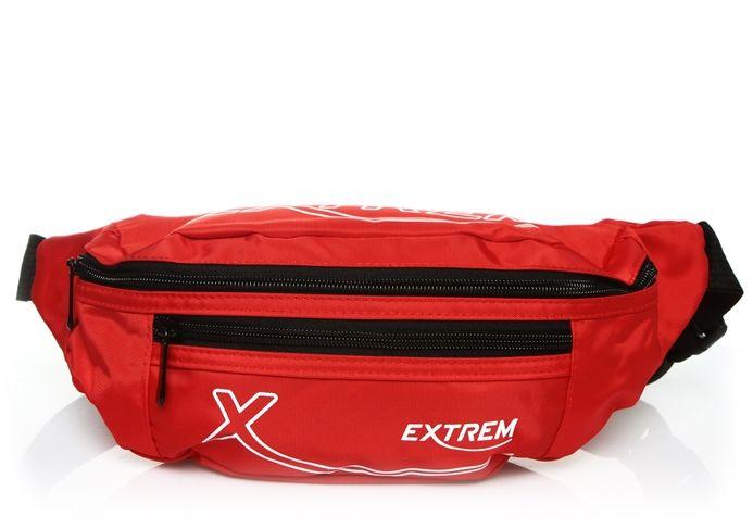 Czerwona nerka saszetka na pas EXTREM 65