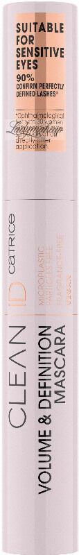 Catrice - CLEAN ID - Volume & Definition Mascara - Wegański tusz do rzęs - 7 ml