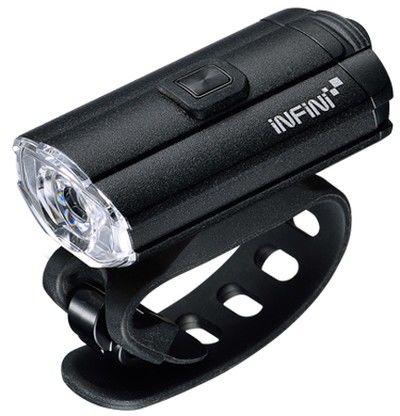 INFINI TRON 100 lumenów Black USB przednia lampka rowerowa I-280P-B,4712123268378