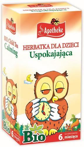 Herbatka dla dzieci - USPOKAJAJĄCA 20x 1,5g BIO - Apotheke