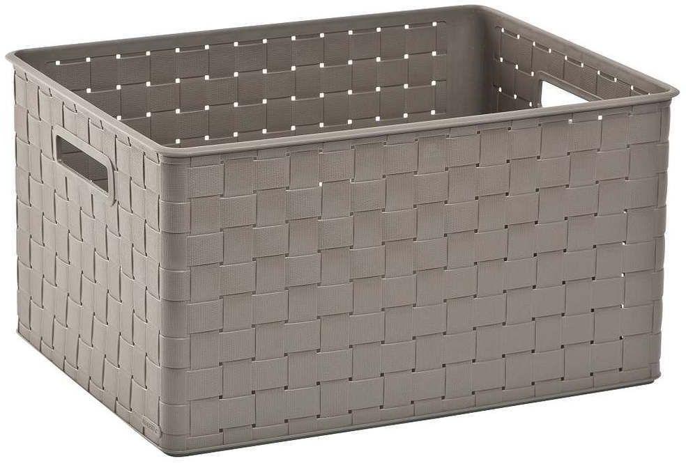 NUANCE Pudełko do przechowywania - brązowe 30l