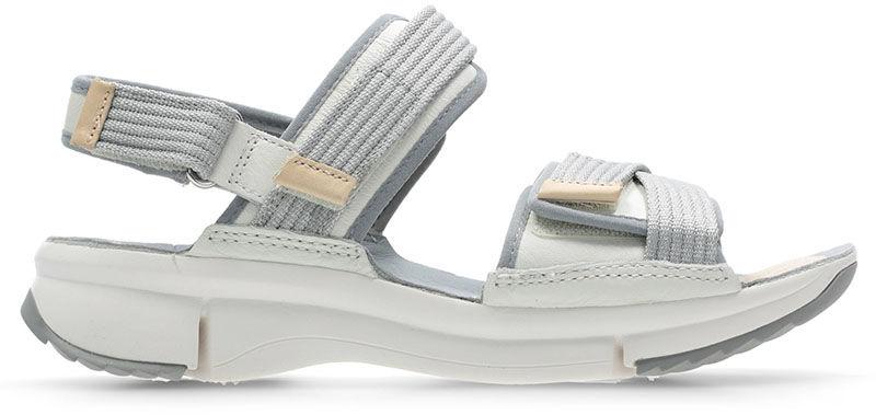 Sandały damskie Clarks Tri Walk białe261393704