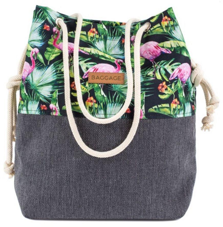 Torebka worek Baggage pink flamingo - pink flamingo